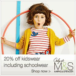 Акция «MARKS & SPENCER в Ханты-Мансийске: 20% off school uniform»